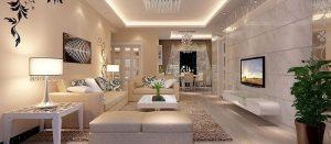 phòng khách nhà ống